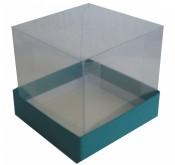Caixa com tampa transparente TT02 11X11X3